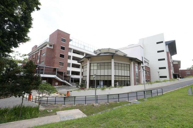 Tanglin Trust School at Portsdown Road.
