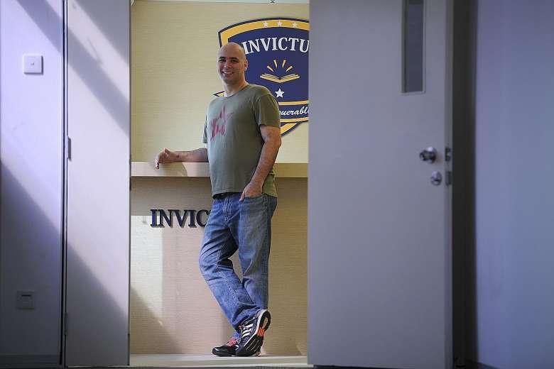Mr Fearon - Co-founder of Invictus Private School Singapore