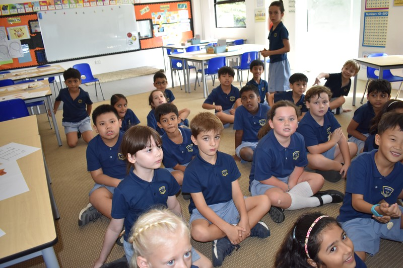 Students at Invictus International School
